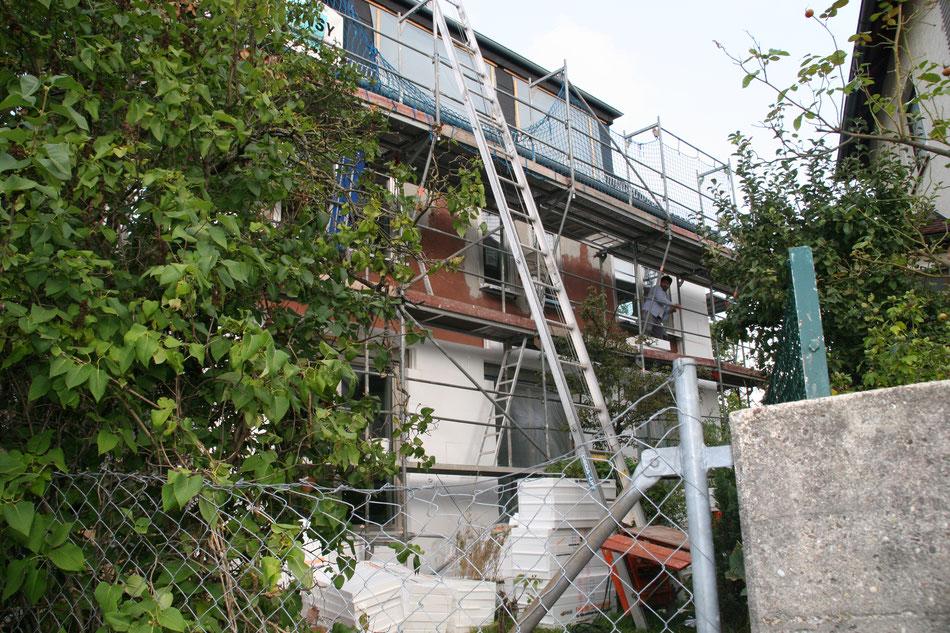 Wärmedämmung an der Fassade ; Madeja-die Hausgestalter Stuckateurbetrieb