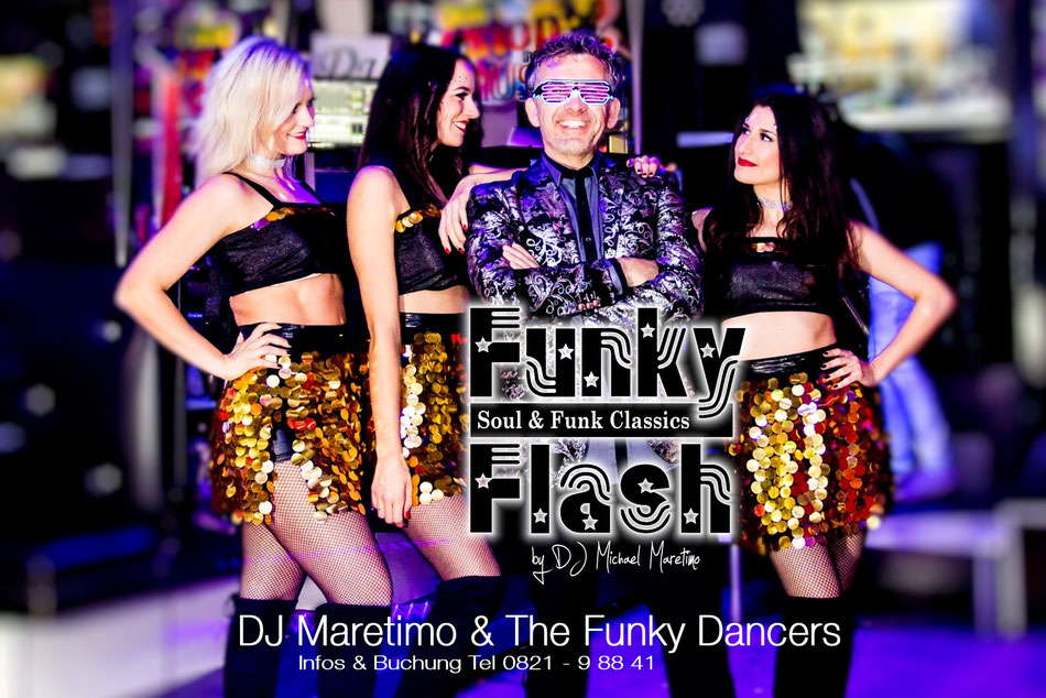 ,Funky Flash' DJ Maretimo & The Funky Dancers - Maretimo Records