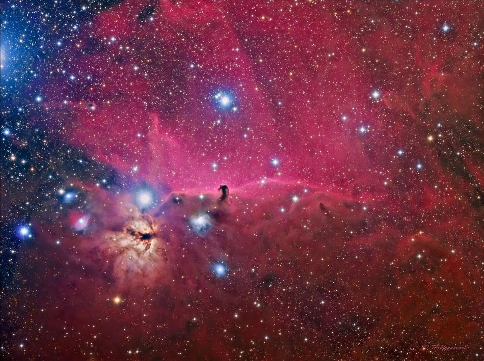 Nebulosa Cabeza de Caballo B33.