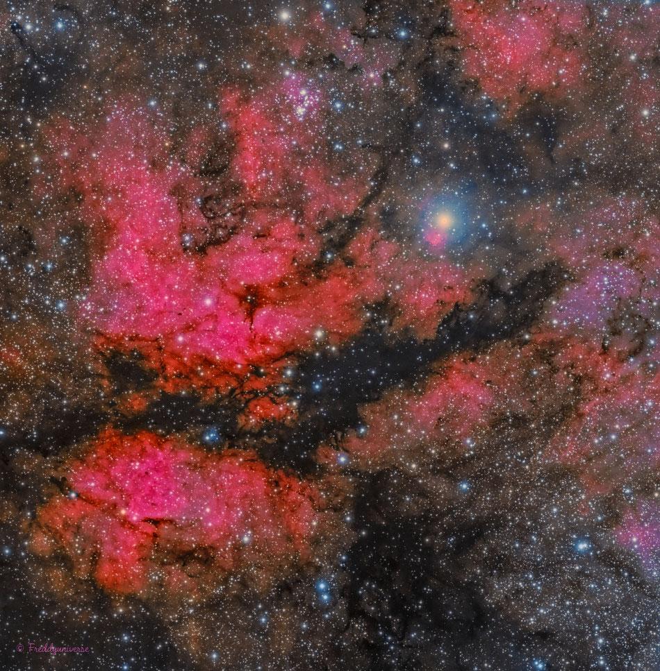 Nebulosa IC1318 La Mariposa