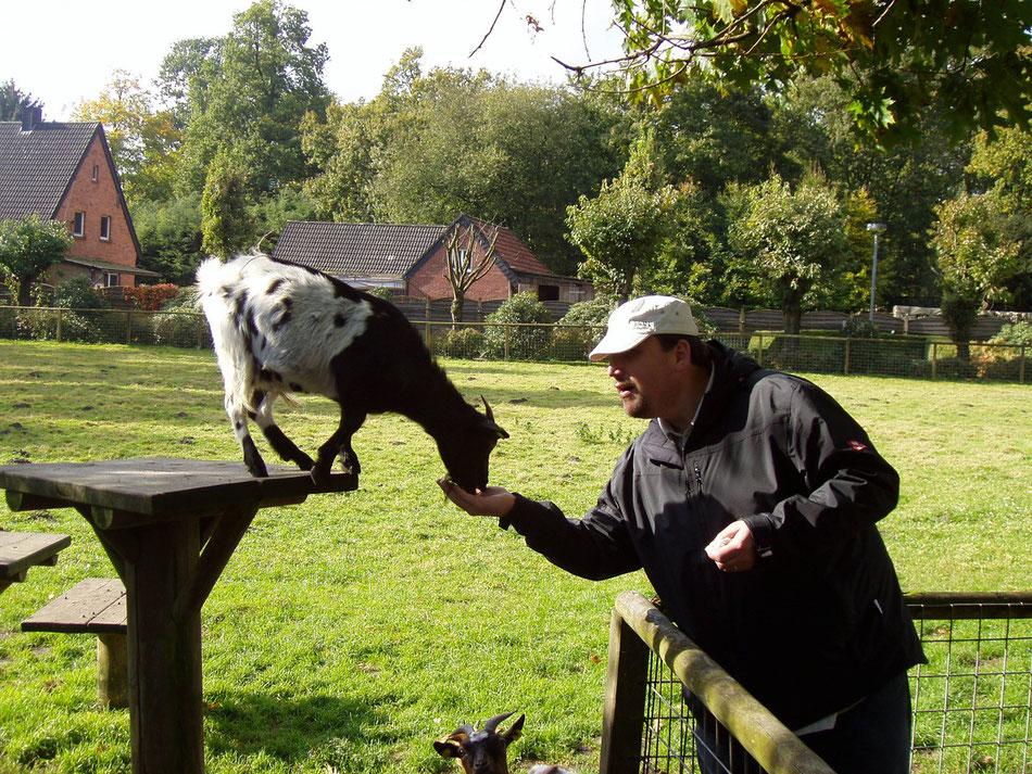Guido hat ein Herz für Tiere