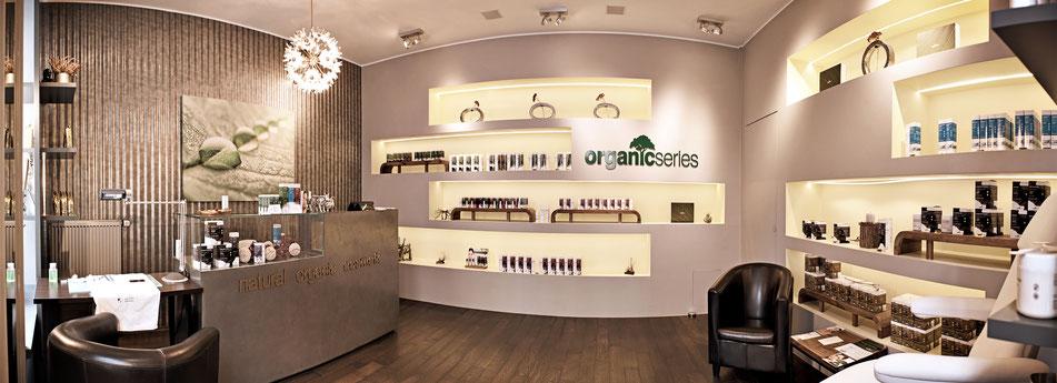 OrganicSeries Shop München Naturkosmetik Gesichtsbehandlungen