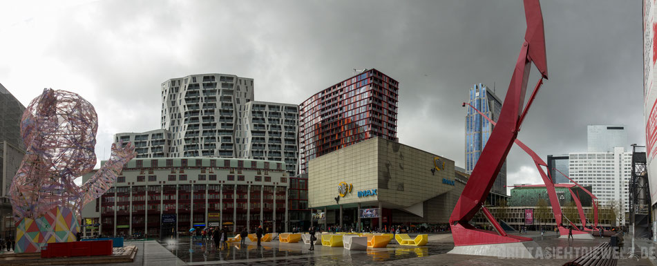 Rotterdam, Pathe, Schouwburgplein, imax, kino