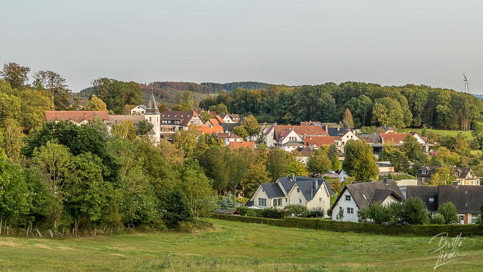 sauerland, wanderung, aussicht, see, aussichtsturm, ebbergturm, eisborn, kleine, rundwanderung