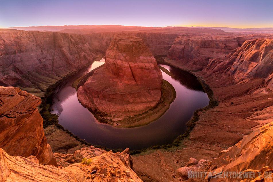 horseshoe,bend,page,sehenswürdigkeiten,tipps,herbst,oktober,usa,südwesten,rundreise,camper,jucy,campervan,arizona