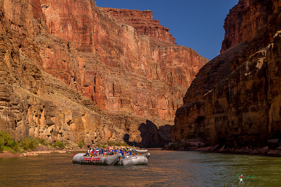grand canyon, natur, rafting, wildwasser, schlauchboot, natur, colorado, river, usa, arizona