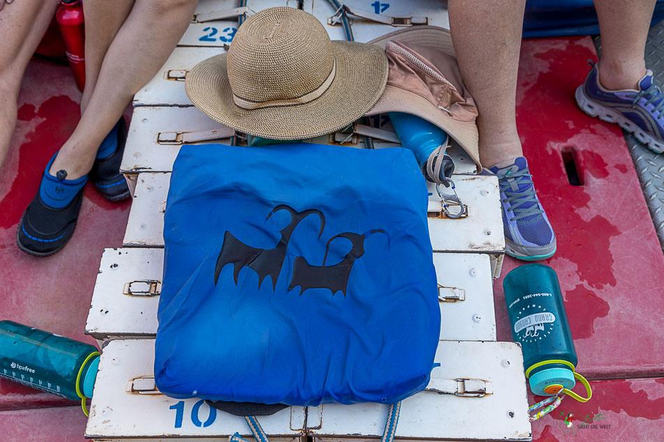 grand canyon, rafting, wildwasser, schlauchboot, gepaeck, colorado, river,  usa, arizona