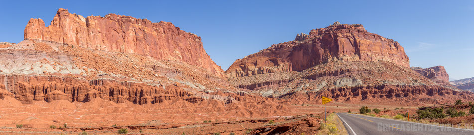 capitol,landscape,reef,nationalpark,capitolreef,wandern,hiking,panorama