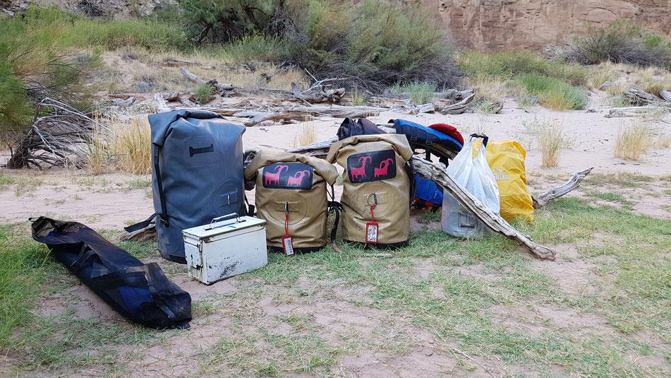 gepaäck, river, rafting, riverrafting, grand, canyon, organisiert, infos, tipps, planung, usa, schlauchboot, motor