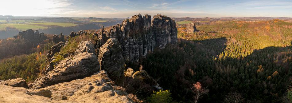 saechsische, schweiz, schrammsteine, wanderung, elbsandsteingebirge, Bad Schandau, dresden, aussicht