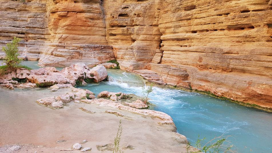 havasu creek, grand canyon, natur, hiking, wanderung, rafting, wildwasser, schlauchboot, colorado, river, usa, arizona
