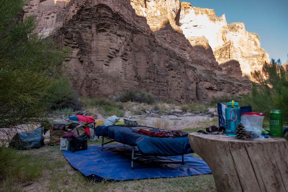 camp, übernachtung, river, rafting, riverrafting, grand, canyon, organisiert, infos, tipps, planung, usa, schlauchboot, motor