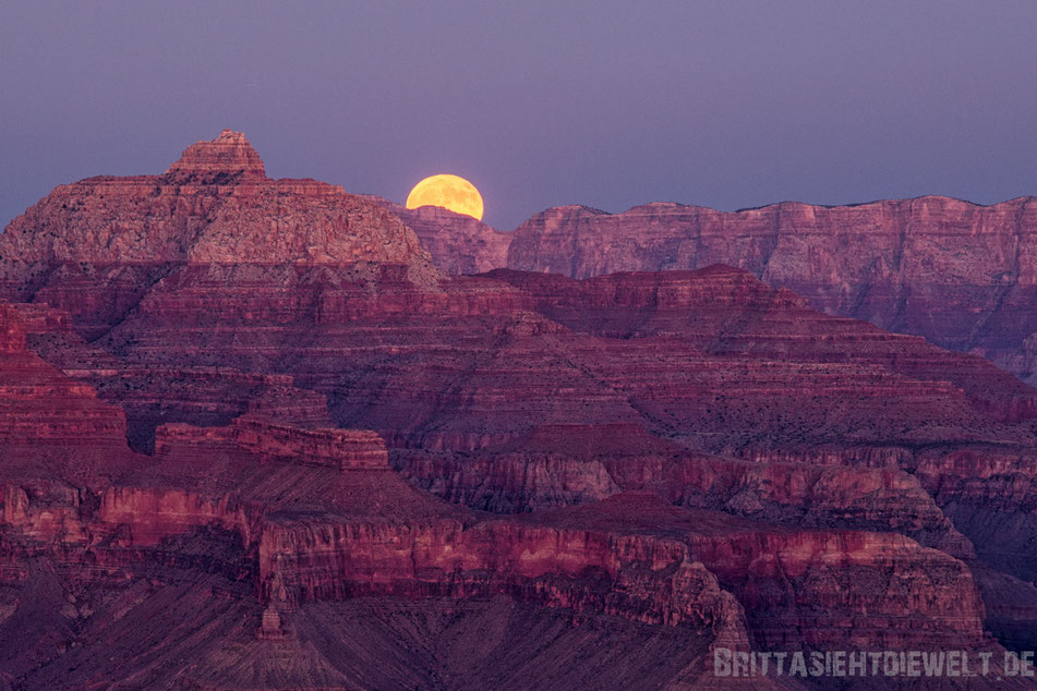 moon,sunset,grand,canyon,jucy,hopi,point,view,sehenswürdigkeiten,tipps,oktober,fotografie