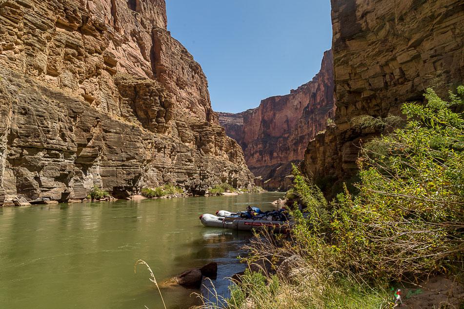 grand canyon, rafting, wildwasser, camp, schlauchboot, lunch, colorado, river, usa, arizona