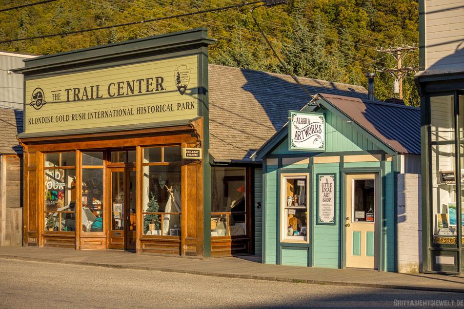trail center, skagway, historische, gebäude, alaska, highlights, infos, tipps, klondike