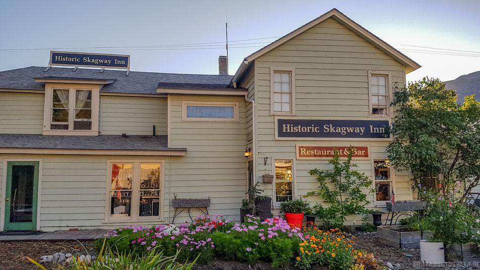 historic, inn, skagway, historische, gebäude, alaska, highlights, infos, tipps