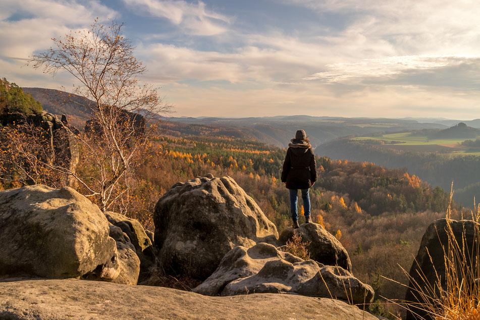 breite kluft, weg, saechsische, schweiz, schrammsteine, wanderung, elbsandsteingebirge, Bad Schandau, dresden, aussicht