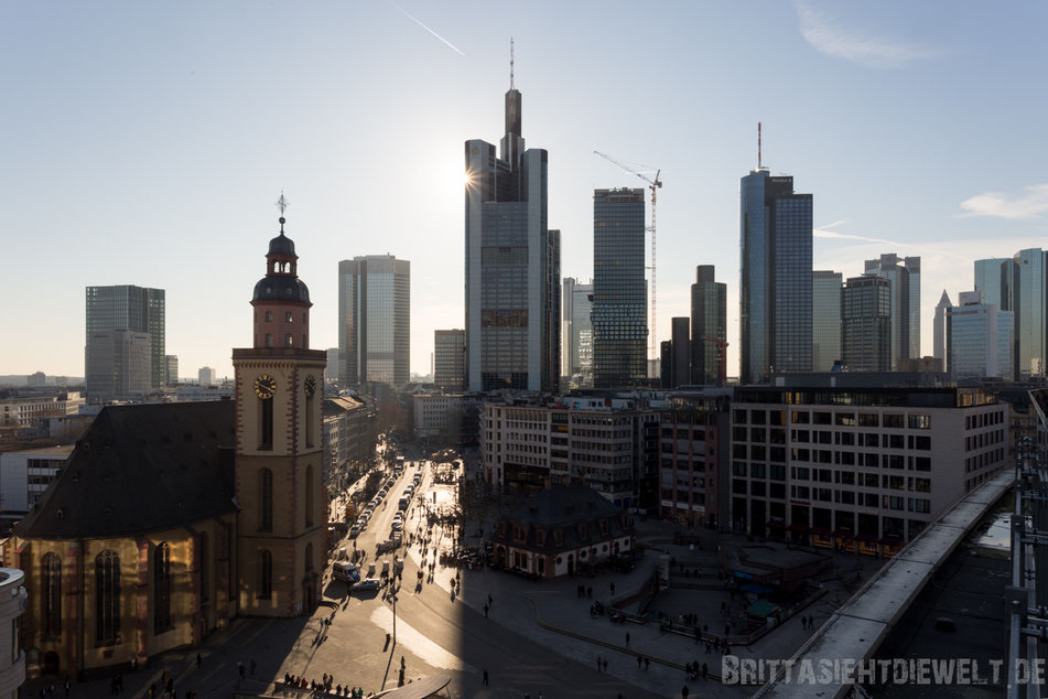 frankfurt, skyline, hauptwache, fotografieren, aussichtspunkt, beste, fotostandorte, aussicht, galeria, kaufhof, tipps