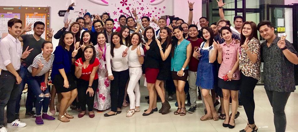 日本語学校MANABUで日本語を学ぶフィリピン人学生