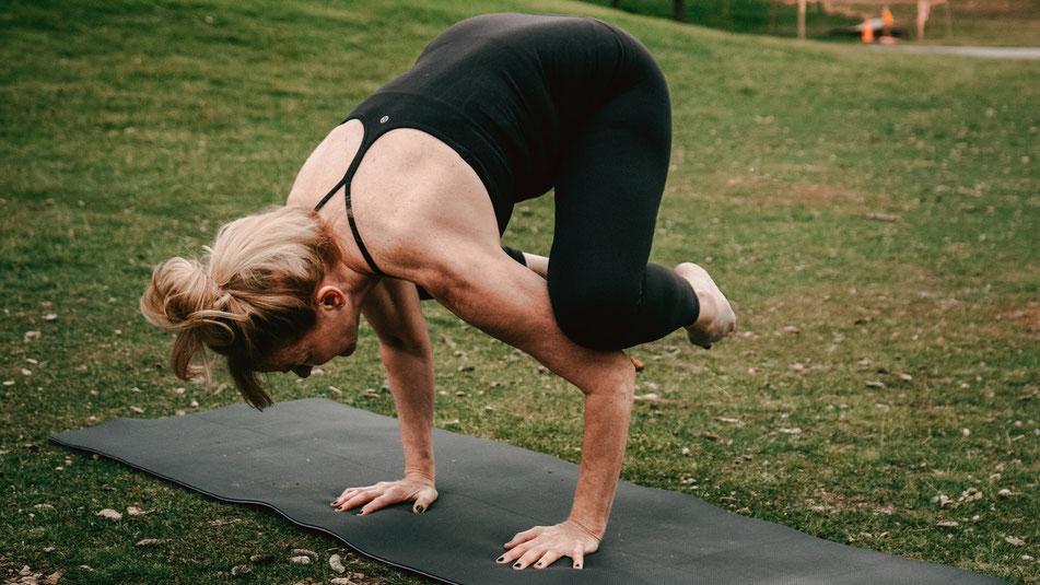 outdoor yoga duesseldorf