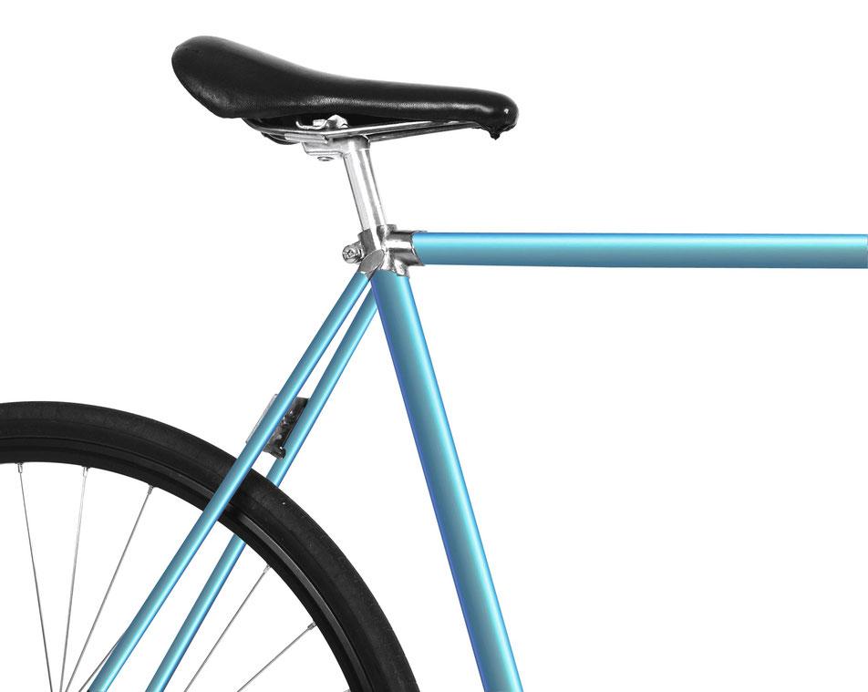 Bild: Folie Fahrrad grau