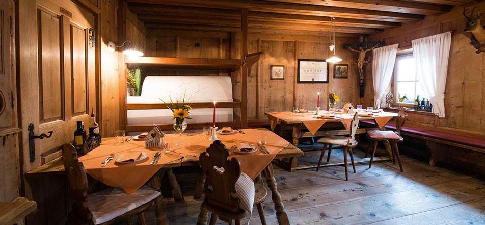 Wiesen/Pfitsch - Pretzhof - Wirtshaus & Hofladen - Gourmet Südtirol