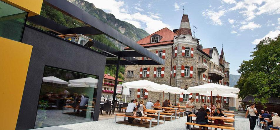 Restaurant Pizzeria Sachsenklemme Ristorante Franzensfeste Fortezza Südtirol Alto Adige Sterzing Vipiteno - Gourmet Südtirol
