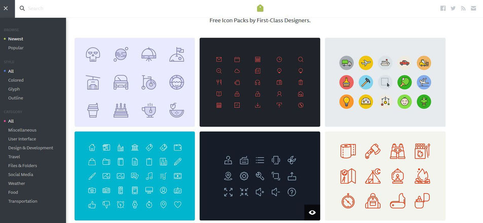 screenshot iconstore.co