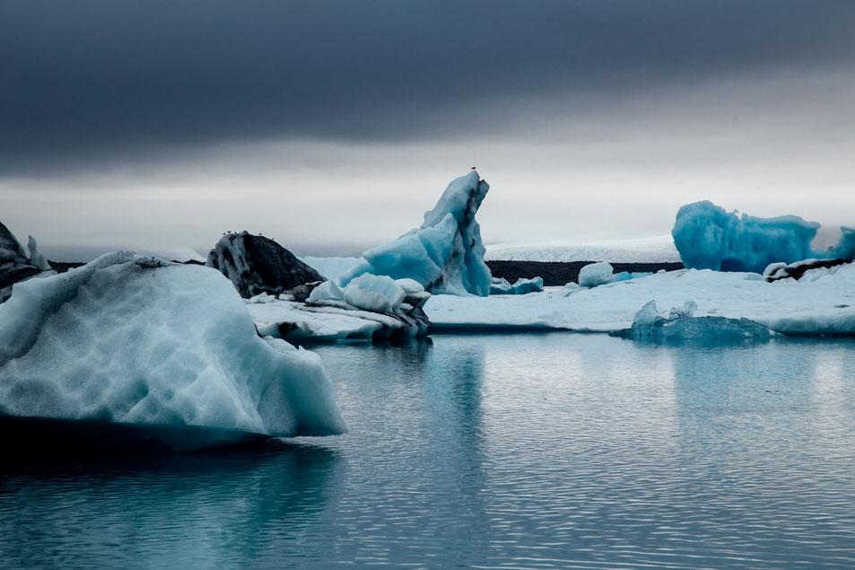 Jökursálón Glacier Lagoon. Iceland Road trip
