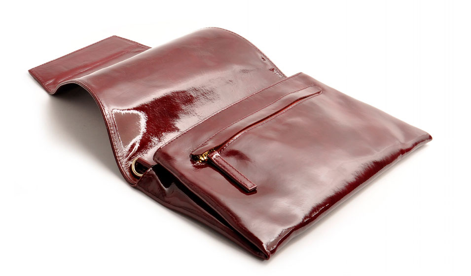 Dirndltasche Trachtentasche aus Echtleder beere