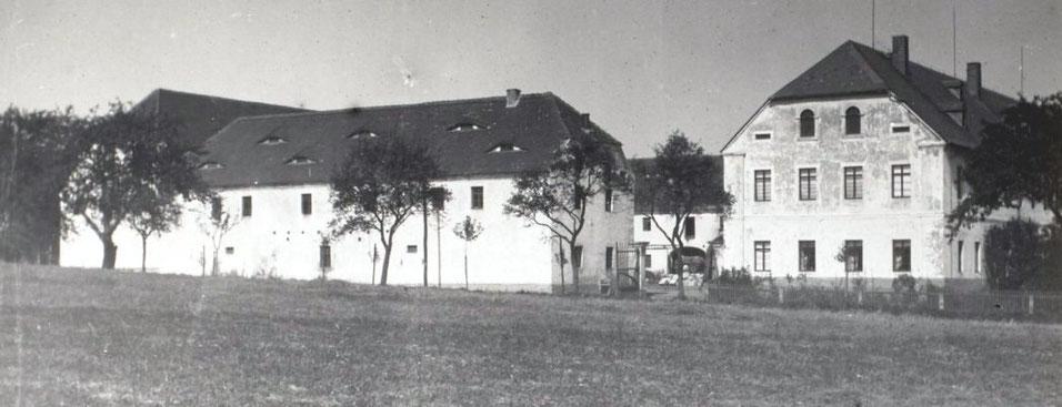 Sommersches Gut vor 1930, Görna, Foto: SLUB/Deutsche Fotothek, Edwin Bauer