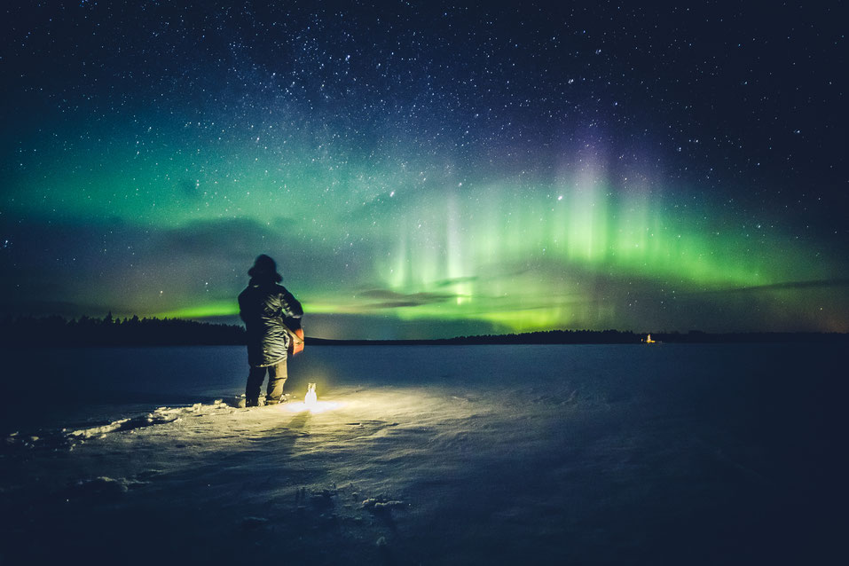 Vic Ja4 - AurorA Boreal (album) - Photo by All About Lapland (Rovaniemi, Finland)