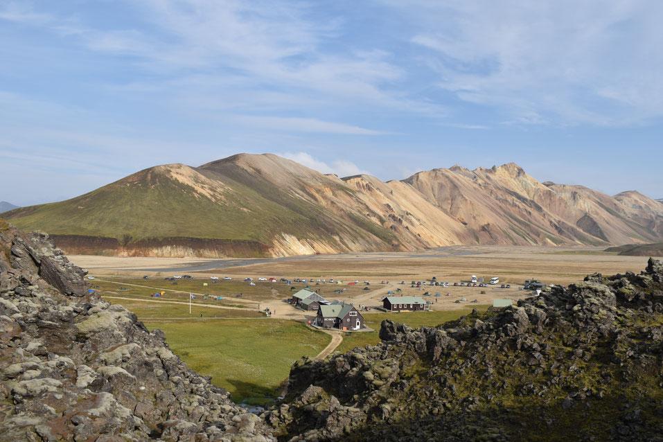 Landmannalaugar Barmur lava field