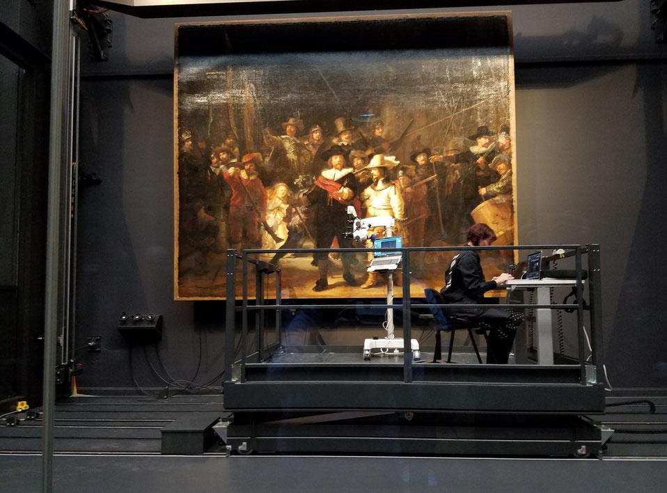 """""""Die Nachtwache"""" von Rembrandt van Rijn wird analysiert"""