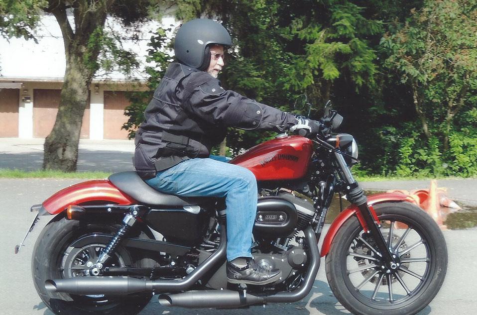 Fahrtraining bei Harley