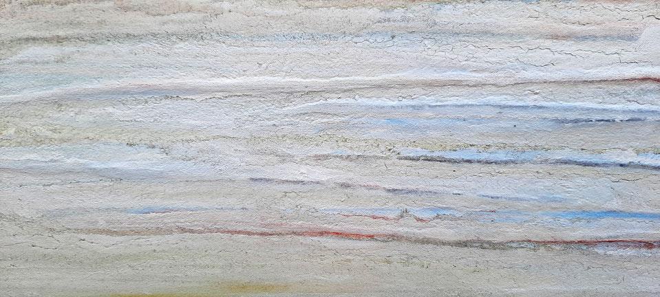 Keilrahmen 3 cm - detail Sand