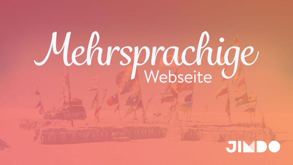 Jimdo Webinar Mehrsprachige Webseite erstellen