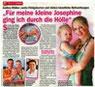 Kinderwunsch erfüllt - Pressebericht + Foto  Zeitschrift Bild