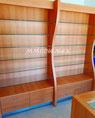 Estantes de madera, estantes para farmcias