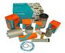 Kit de filtres moteur et hydraulique kubota pour mini pelles