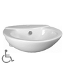 Julia Assist Semi Recessed Basin