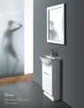 DECO Semi recessed vanity - 425x300mm