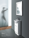 DECO Semi recessed vanity - 425x300mm
