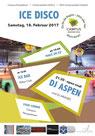 DJ Aspen, Eishalle Huttwil, 18.02.2017, Campus Perspektiven, Disco, Party, Sportzentrum