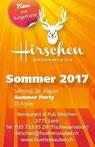 Hirschen, DJ Aspen, Fest, Pub, Bar, Lenk, Berner Oberland, hüttenzauber