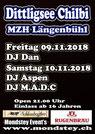 DJ Aspen, M.A.D.C, Bar, Party, Disco, Mondstey Events, Veranstaltung, Ausgang, Thun, Bern, Schweiz. 10. November