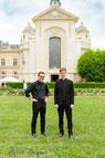 Séminaristes Vicotr et Côme du diocèse de Nanterre