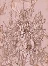 """Eine Zeichnung von Will Meeder, der seine Arbeiten für """"der Vampyr"""" zur Verfügung gestellt hat."""