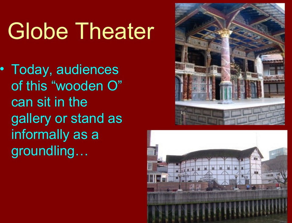 the globe theatre essay