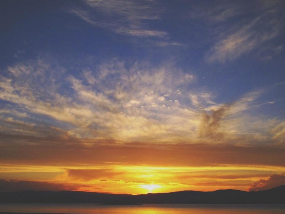 bigousteppes mongolie ciel soleil lac steppes